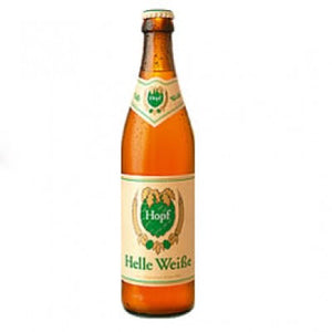 Hopf Brewery - Helle Weisse - Classic Wheat Beer - 500ml Bottle