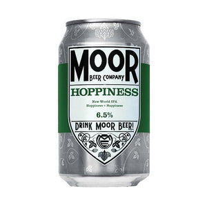 Moor Beer Company - Hoppiness - New World IPA - 330ml Can