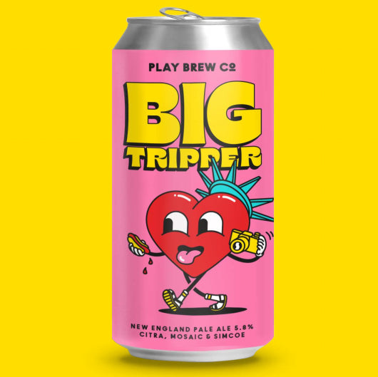 Play Brew Co - Big Tripper - New England Pale Ale - 440ml Can
