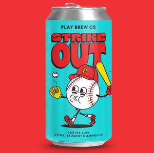 Play Brew Co - Strike Out - DDH India Pale Ale - 440ml Can