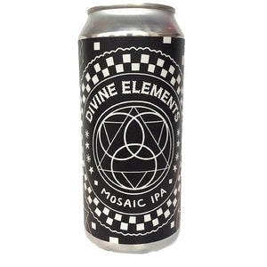 Black Iris Brewery - Divine Elements - Mosaic IPA - 440ml Can