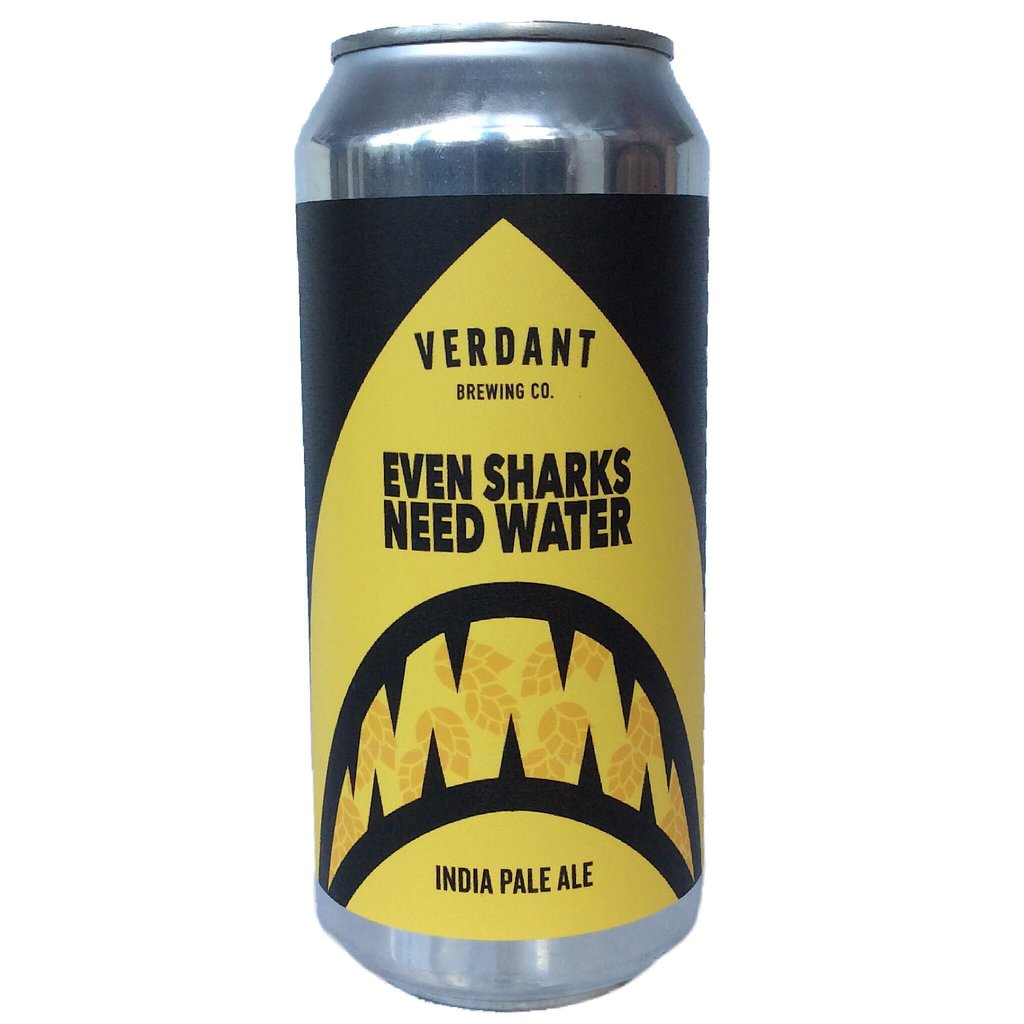 Verdant Brewing Co - Even Sharks Need Water - India Pale Ale - 440ml Can