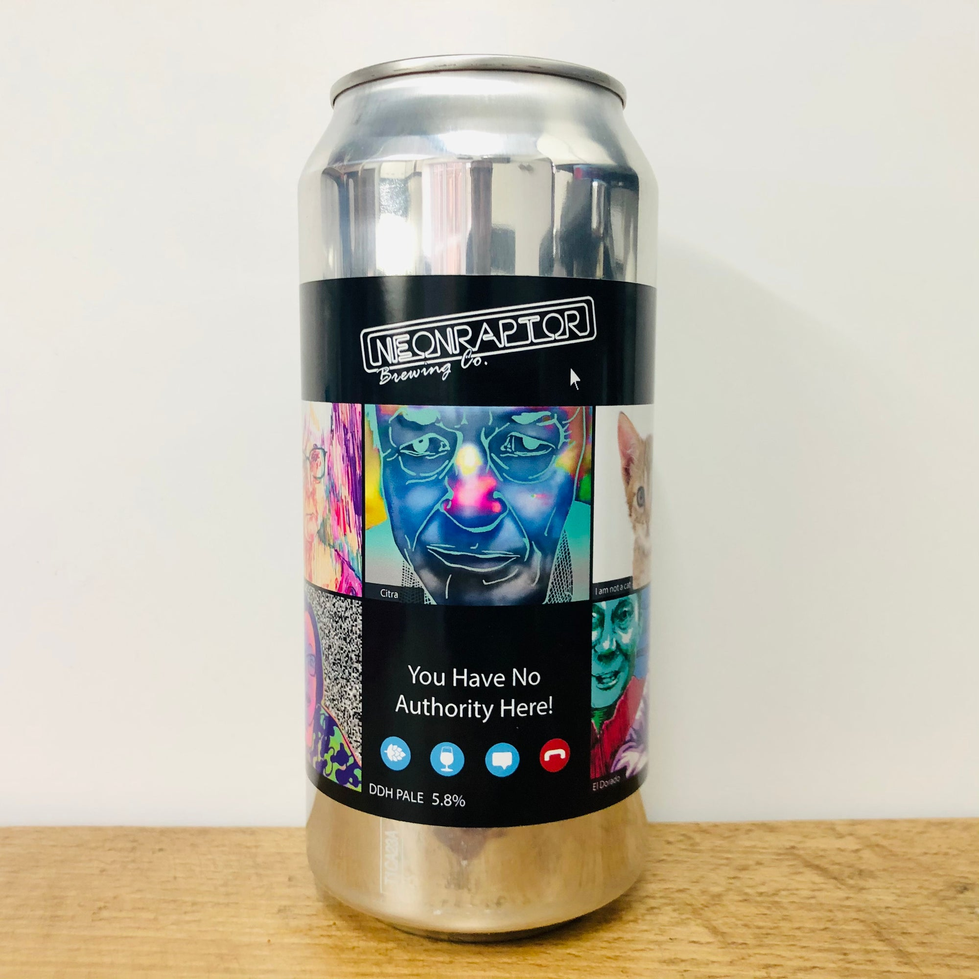 Neon Raptor - You Have No Authority Here! - DDH Pale - 440ml Can