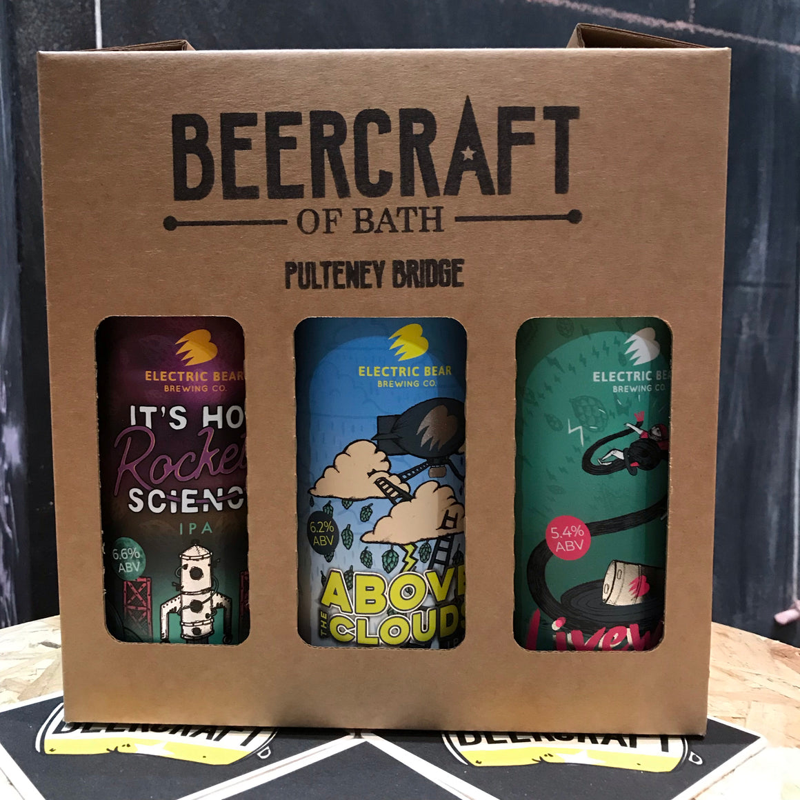 Electric Bear Gift Pack - 6 x 440ml Cans