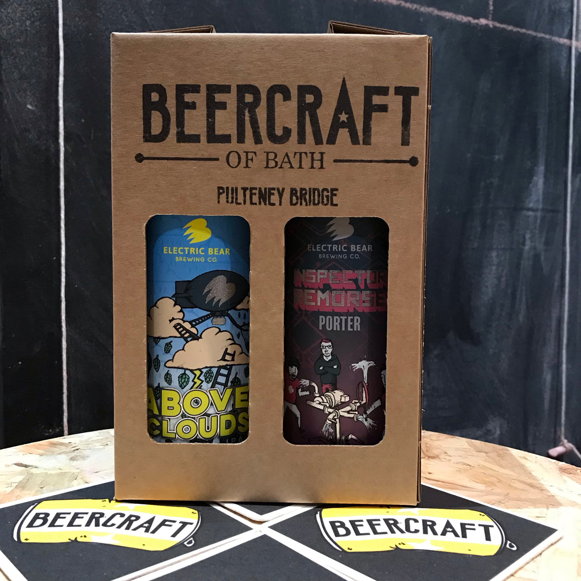 Electric Bear Gift Pack - 4 x 440ml Cans
