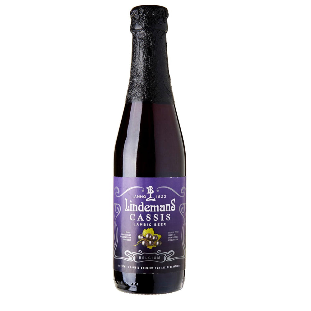 Lindemans Brewery - Cassis - Belgian Lambic Beer - 375ml Bottle