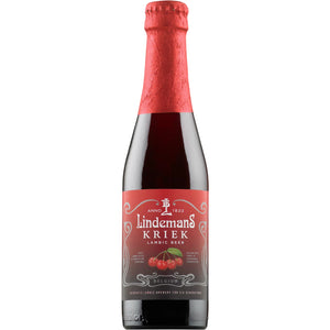 Lindemans Brewery - Kriek - Cherry Belgian Lambic Beer - 375ml Bottle