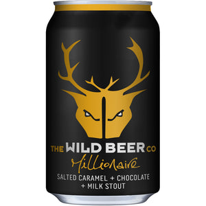Wild Beer - Millionaire - Salted Caramel Stout - 330ml Bottle