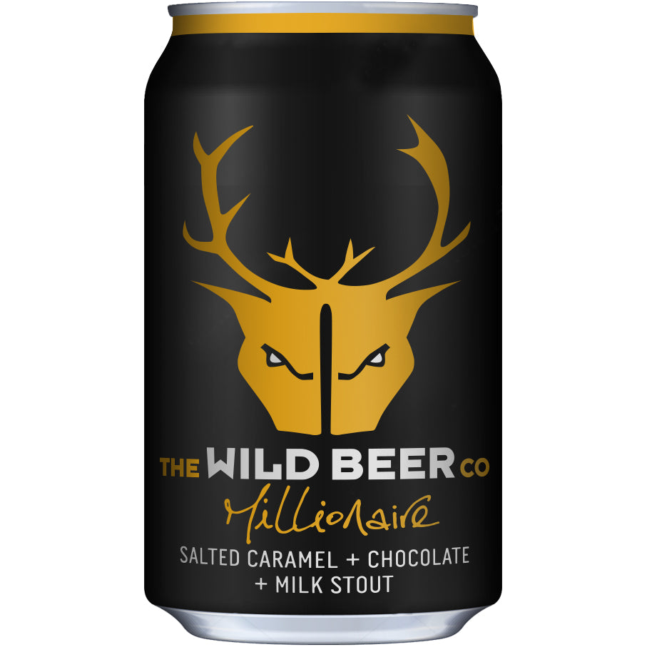 Wild Beer - Millionaire - Salted Caramel Chocolate Milk Stout - 330ml Can