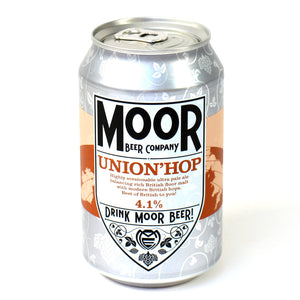 Moor Beer Company - Union'Hop- Pale Ale - 330ml Can