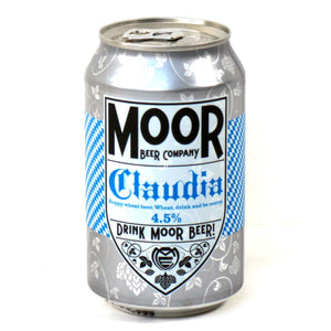 Moor Beer Company - Claudia - Hefeweizen Wheat Beer - 330ml Can