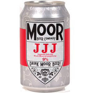 Moor Beer Company - JJJ - Imperial Pale Ale - 330ml Can