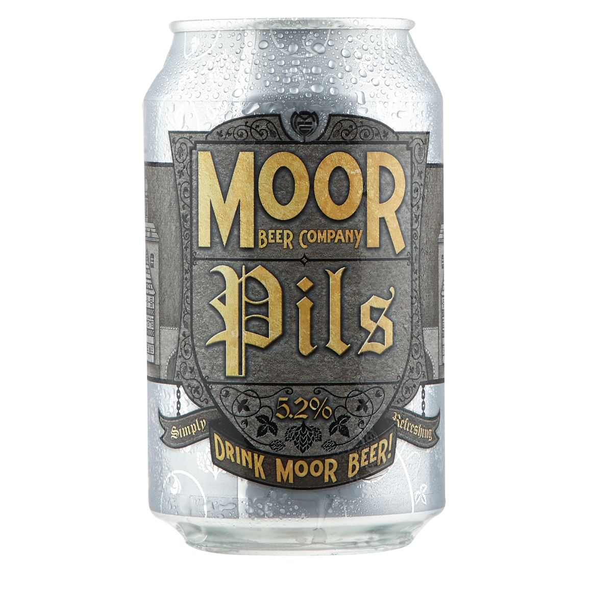Moor Beer Company - Pils - 330ml Can