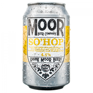 Moor Beer Company - So'Hop - Ultra Pale Ale - 330ml Can