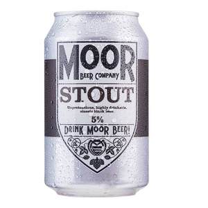 Moor Beer Company - Stout - 330ml Can
