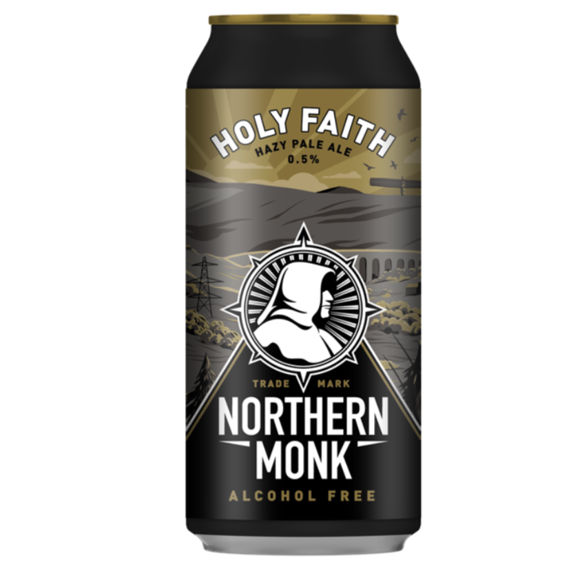 Northern Monk - Holy Faith - Alcohol Free Hazy Pale Ale - 440ml Can