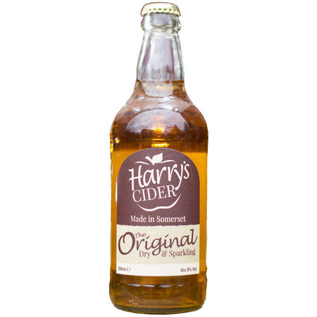 Harry's Original Cider - 500ml Bottle