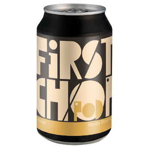 First Chop - POD - Gluten Free Vanilla Stout - 330ml Can