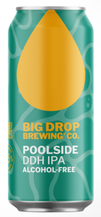 Big Drop Brewing Co - Poolside - Alcohol Free DDH IPA - 440ml Can