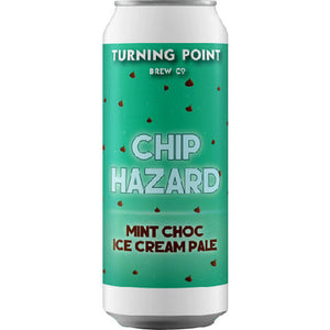 Turning Point - Chip Hazard - Mint Choc Ice Cream Pale Ale - 440ml Can