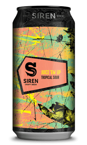 Siren Craft Brew - Juice 'Em Up - Tropical Sour - 440ml Can