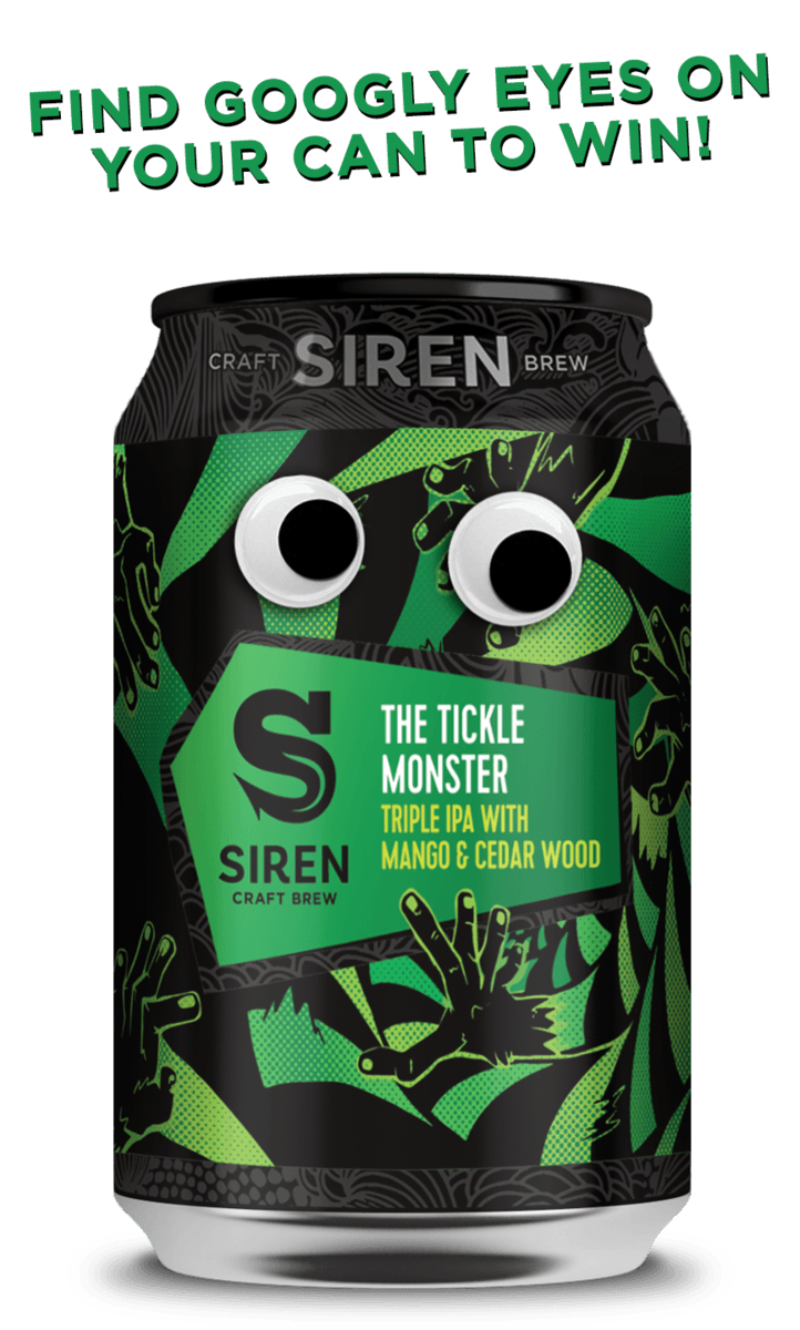 Siren Craft Brew - The Tickle Monster - Triple IPA - 330ml Can
