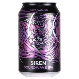 Siren Craft Brew - Soundwave - India Pale Ale - 330ml Can