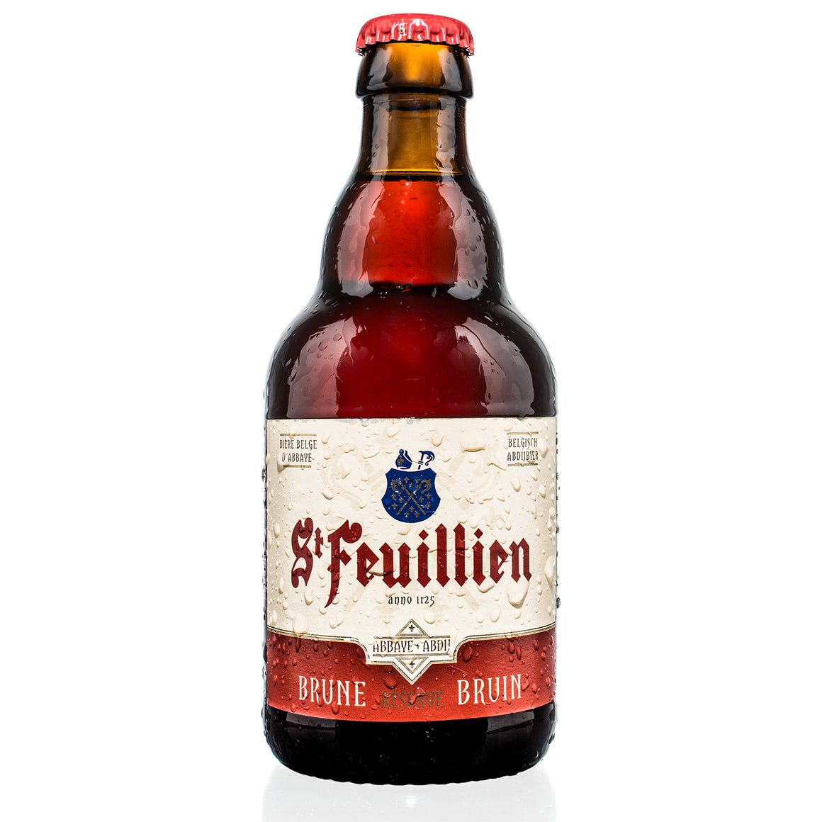 St Feuillien - Brune - Belgian Abbey Ale - 330ml Bottle