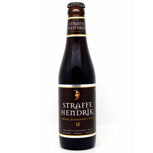 De Halve Maan - Straffe Hendrick 11 - Quadruple - 330ml Bottle
