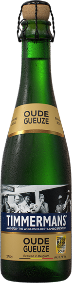 Timmermans - Oude Gueuze - Belgian Lambic Beer - 375ml Bottle