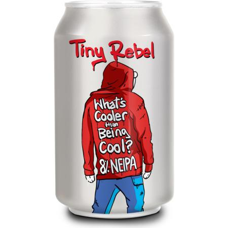 Tiny Rebel - What's Cooler Than Being Cool? - NEIPA - 330ml Can