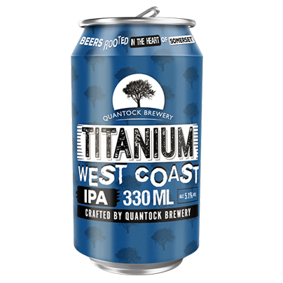 Quantock Brewery - Titanium - West Coast IPA - 330ml Can