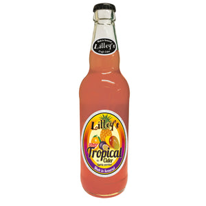 Lilley's Cider - Tropical - Fruit Cider - 500ml Bottle