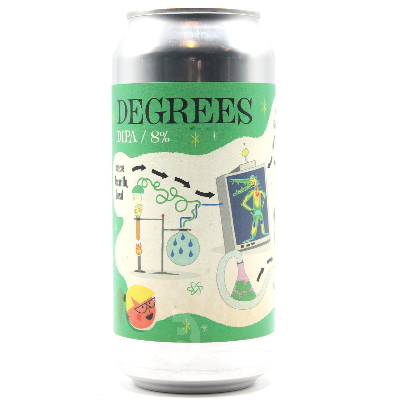 Verdant x Deya - Degrees - DIPA - 440ml Can