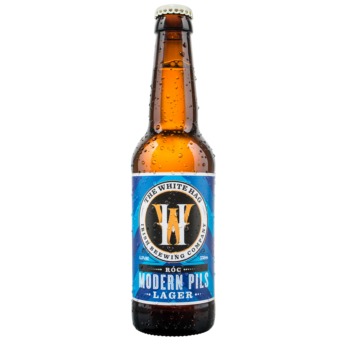 White Hag Brewery - Roc - Modern Pils - 330ml Bottle