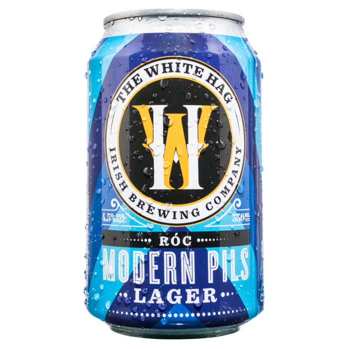 White Hag Brewery - Roc - Modern Pilsner Lager Beer - 330ml Can