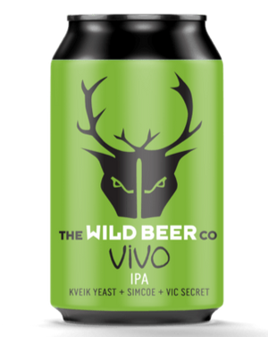 Wild Beer - Vivo IPA - Kviek Yeast+Simcoe+Vic Secret - 330ml Can