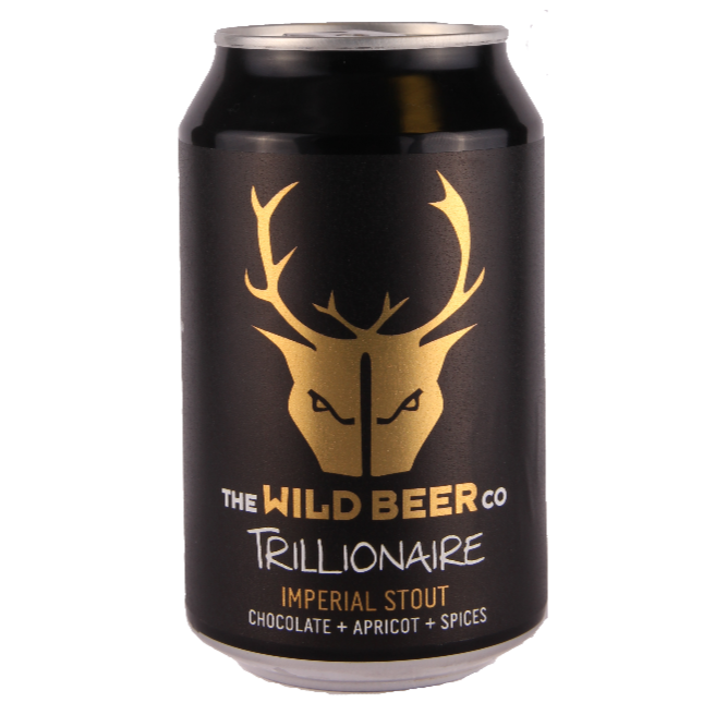 Wild Beer Co - Trillionaire - Imperial Stout - 330ml Can