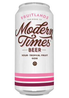 Modern Times - Fruitlands - Sour Tropical Fruit Gose - 473ml Can
