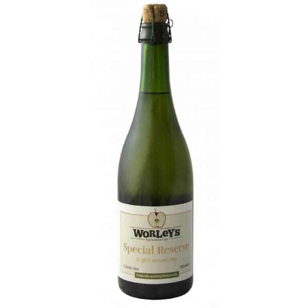 Worley's Cider - Special Reserve - Medium Dry Keeved Cider - 750ml Bottle