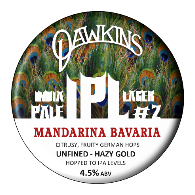 Dawkins - IPL - Mandarina Bavaria - India Pale Lager - 500ml Bottle