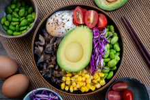 Avocado Vegetarian bowl