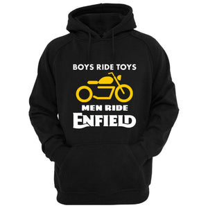 Boys ride Toys Enfield official black Hoodie - Badtamees