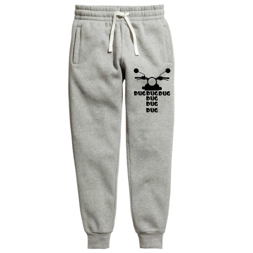 Dug Dug Grey Royal enfield official Joggers - Badtamees