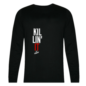 Killin It  Black Full Sleeve T-Shirt