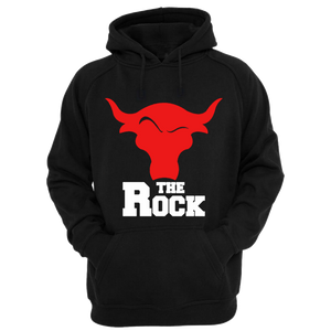 The Rock Black Hoodie - Badtamees