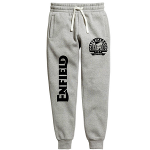 Made like a gun Grey Royal enfield official Joggers - Badtamees