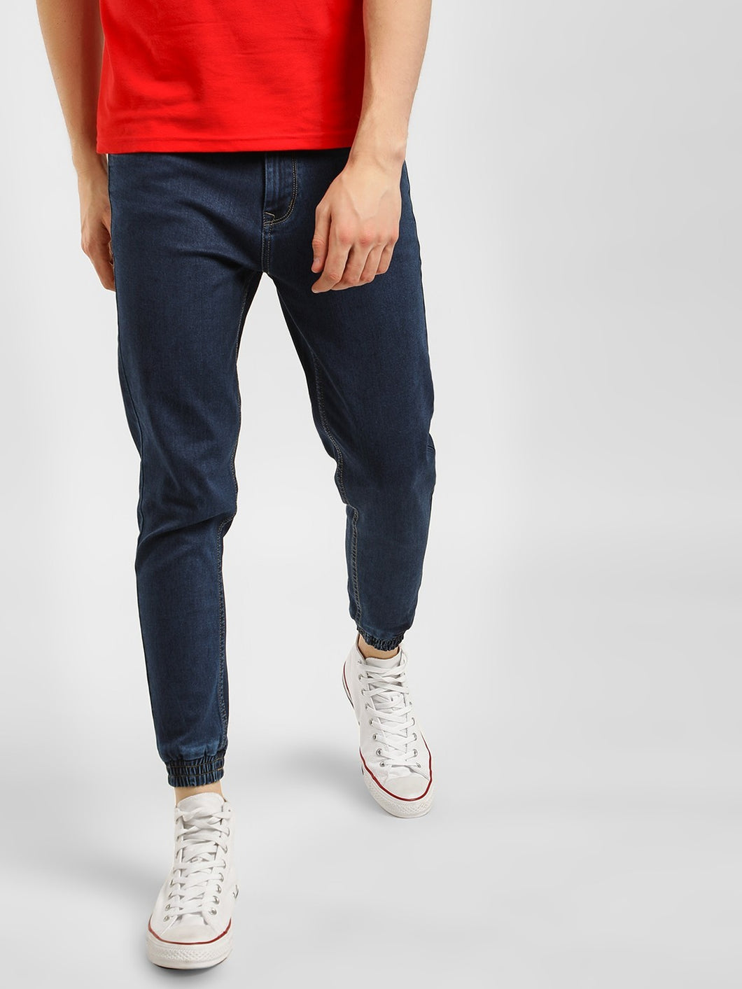 Men's Contemporary Dark Denim Joggers: Rs.999 | Book For Rs.31 Only