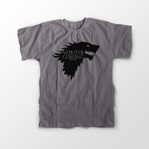 Game Of Thrones Winter Official Sleeve T-Shirt - Badtamees