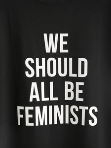 Feminists: Back Print Premium Girls Tee - Badtamees